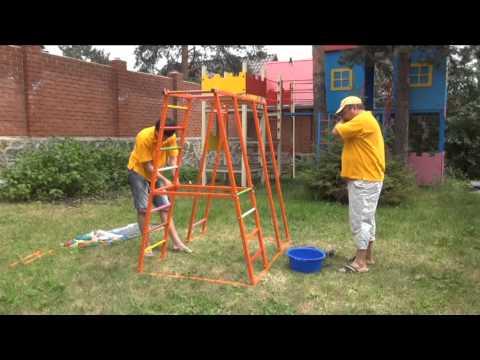 Как выбрать детский спортивный комплекс для дачииз YouTube · Длительность: 2 мин55 с