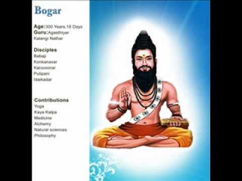 Bhogar siddhar, siddhar Bogar