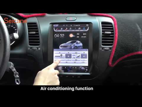 How To Install And Upgrade The 10.4 Inch Vertical Screen Bluetooth Mirror Link AC Radio For KIA K3