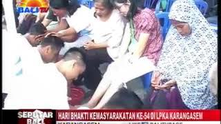 Family Gathering Serangkaian hari Bhakti Pemasyarakatan ke-54