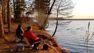 Удачное Открытие Сезона 2021 Рыбалка С Ночёвкой Ловим Леща На Фидер Чигиринское Водохранилище