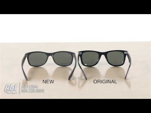Ray Ban Wayfarer Comparison Original Vs New Style Youtube