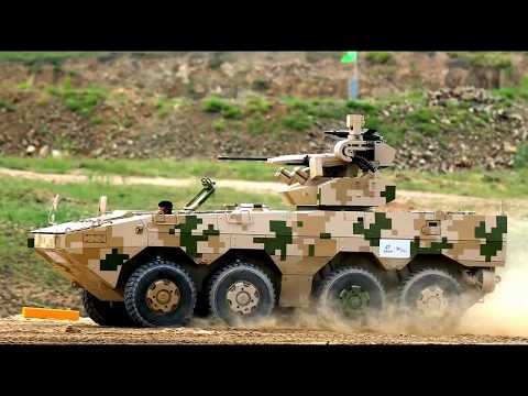 Norinco & CNR - New IFVs, APCs & Other Armoured Vehicles Demonstration [720p]