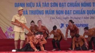 Văn nghệ chào mừng Nông thôn mới xã Tào Sơn