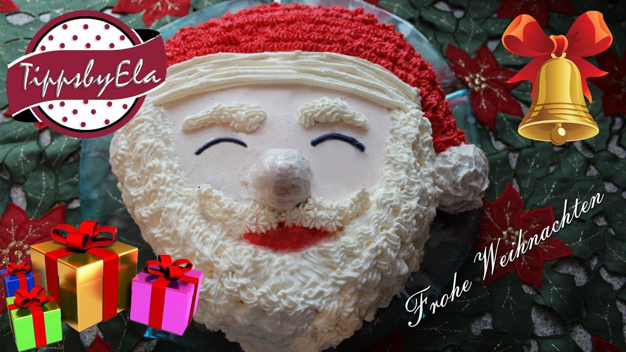 Weihnachtsmann Kuchen