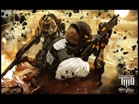 Army of Two: The Devil's Cartel All Cutscenes Movie {HD}