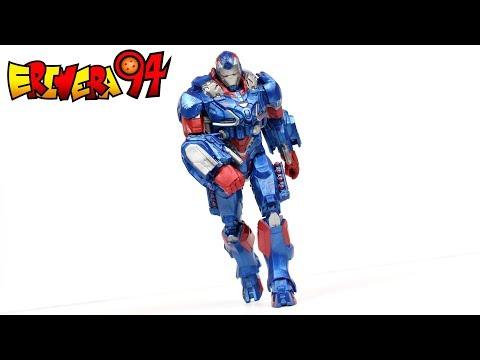 Marvel Legends IRON PATRIOT Avengers Endgame Bro Fat Thor BAF Wave Action Figure Review
