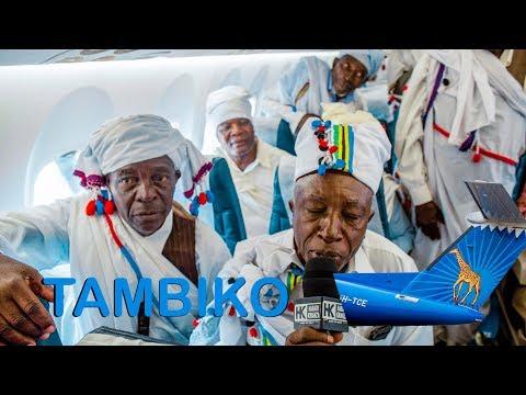 ILIVYOTUA: Air Tanzania Yafanyiwa Tambiko Iringa, Wazee wa Kimila Wamaliza Kila Kitu