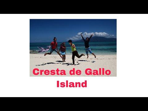 On our way to Cresta de Gallo Island.