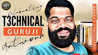 Technical Guruji Digital Painting