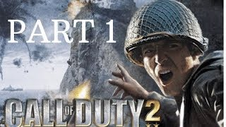 CALL OF DUTY 2 Walkthrough Part 1 - Russian Training