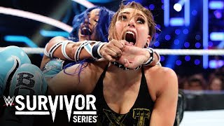 Rhea Ripley and Sasha Banks clash in Triple Threat war: Survivor Series 2019 (WWE Network Exclusive)
