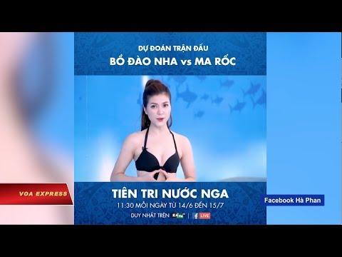 MC truyền hình mặc bikini gây tranh cãi (VOA)