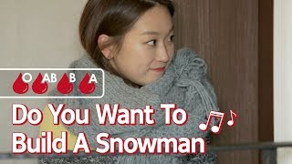 What If Each Blood Type Was Anna From Frozen? [What's Your Blood Type] • ENG SUB • dingo kdrama