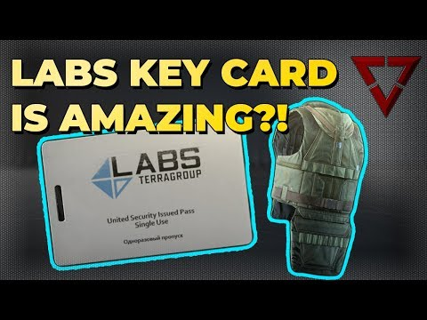Is The Labs Keycard Worth‎ ₽115,000? || Patch 11.7 Escape from Tarkov First Labs Raid