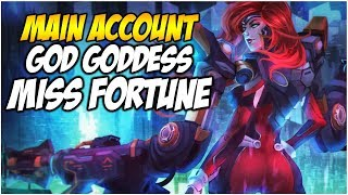 GUN GODDESS MISS FORTUNE IS HERE (Ultimate Skin) - Climb to Master S8 | League of Legends