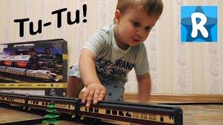 ★ Игрушечный Поезд - Видео для детей. Играем в Железную Дорогу. The Train unpacking toys
