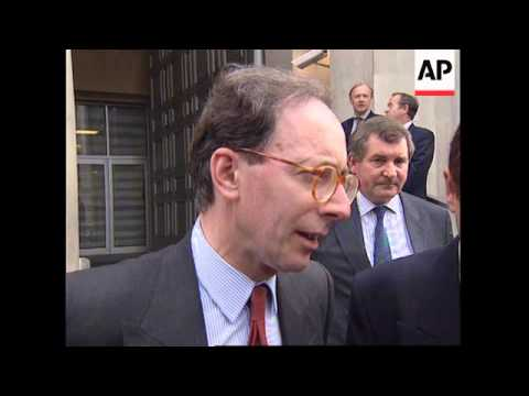 UK: LONDON: NEW UK DEFENCE MINISTER MALCOLM RIFKIND INTERVIEW