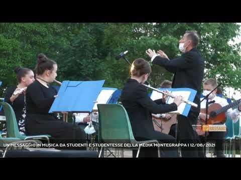 UN MESSAGGIO IN MUSICA DA STUDENTI E STUDENTESSE DELLA MEDIA MONTEGRAPPA | 12/06/2021