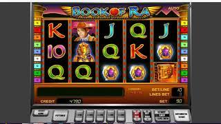 Как выиграть в казино Вулкан. Как обмануть слот Book of Ra