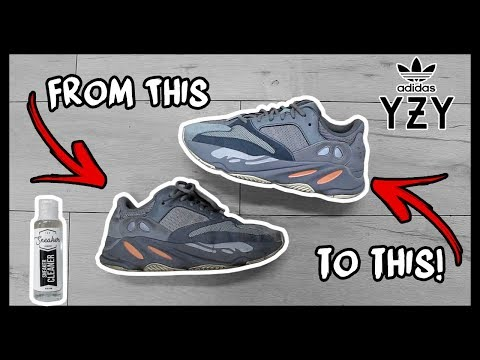 CLEANING FILTHY ADIDAS YEEZY 700's TO LOOK NEW AGAIN