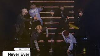 GOT7 갓세븐[4K 직캠]Never Ever@170318 Rock Music