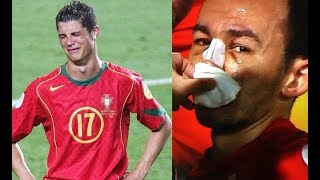 Maçta Babasının Ölüm Haberini Alan Futbolcular (Ronaldo,Umut Bulut)