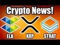 NBC's Shark Tank Invests in Crypto!! Elastos (ELA) Dumping?! Plus Coinbase and XRP?? [Bitcoin News]