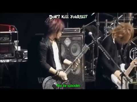 The GazettE - Tomorrow Never Dies [ Live ] Sub Esp + Karaoke