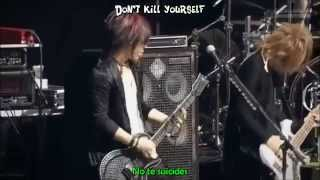 The GazettE - Tomorrow Never Dies [ Live ] Sub Esp + Karaoke