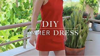 DIY easy summer dress