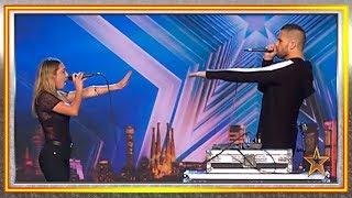 Él hace BEATBOX y ella CANTA. ¿Combinación perfecta? | Audiciones 8 | Got Talent España 2019