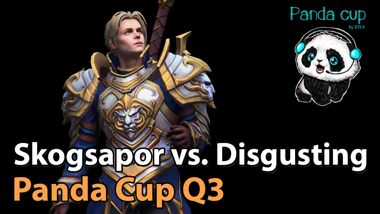 ► Skogsapor vs. Disgusting - Panda Cup Q3 - Heroes of the Storm Esports