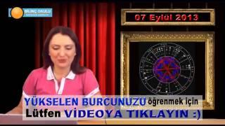 KOVA Burç Yorumu 07 Eylül 2013   Astrolog DEMET BALTACI    , astroloji, astrology