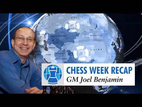 GM Joel Benjamin's Chess week recap for Chessclub.com - 2018-01-22