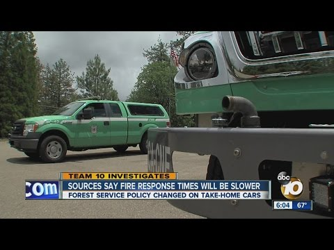 US Forest Service changes policy on take-home vehicles for their fire chiefs