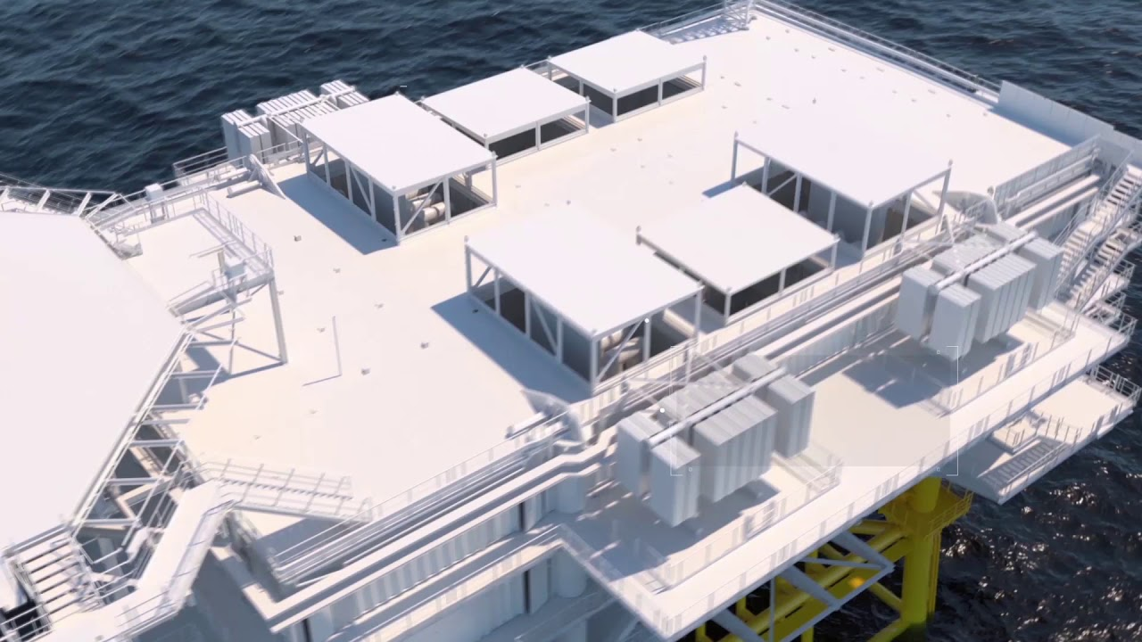 How is a substation built?