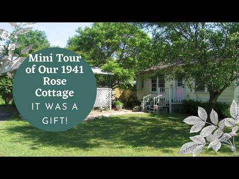 Tour My Tiny 1941 Cottage Home   Rose Cottage