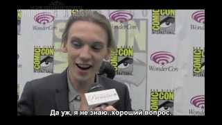 Джейми: интервью для Page to Premiere (30.03.2013, РУС СУБ)