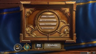 Hearthstone dailyquests, tavern brawl and opening a pack!