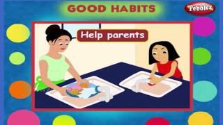 Good Habits   Good Manners   Pre School Basics for Kids   Basic English Grammar for Children
