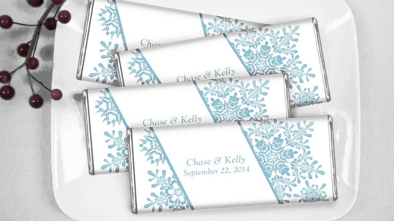 Winter Wedding Candy Bar Video: Elegant Flurries - YouTube