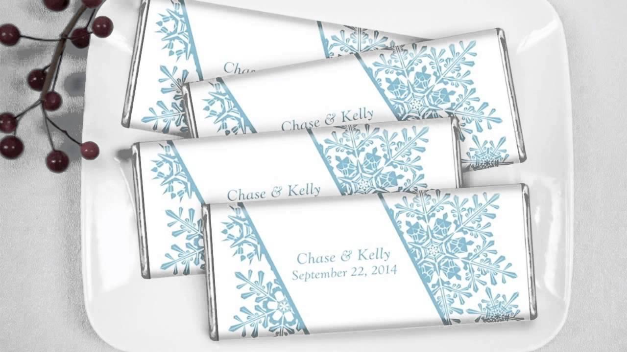Winter Wedding Candy Bar Video: Elegant Flurries - YouTube