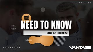 Need to Know VT #3