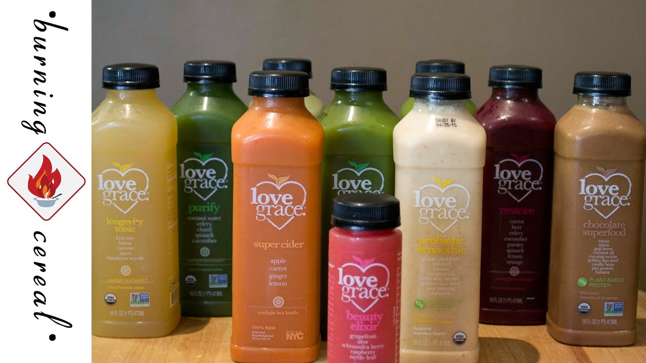 Love grace organic juice product review youtube malvernweather Gallery