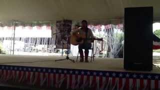 """Destiny singing """"you took my breath away"""" her original smog she wrote. Waller county Fair 2013"""