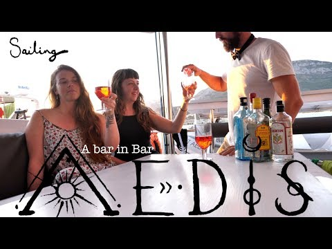 Sailing Aedis   Episode 18:  A bar in Bar (Customs, police, and a bar in Montenegro)