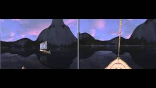 Wurm Online - Boats Pass Mid Crystal Lake