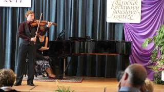 Jan Honza Hofman / housle / violin // František Ondříček / Scherzo Capriccioso op.18