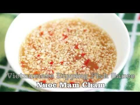 Vietnamese Dipping Fish Sauce (Nuoc Mam Cham)